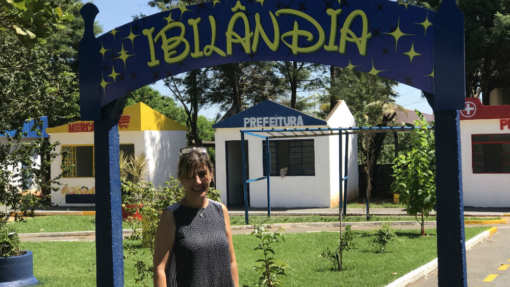 Ana Cristina trouxe inspirações da Europa para cidade de Ibitinga. | Foto: Polo Cultural