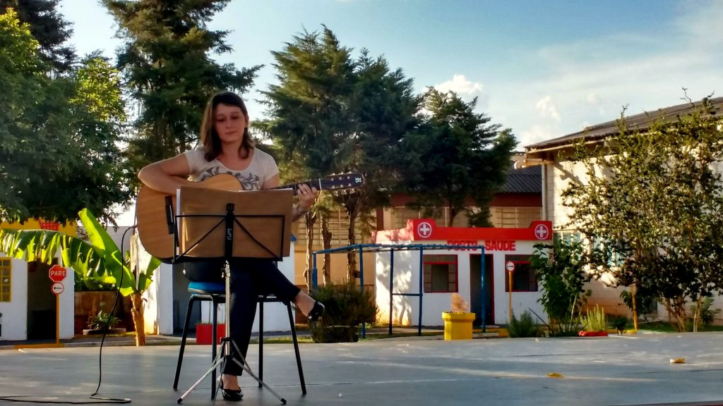 O ciclo da educação ganha notas musicais com a presença de O Palco em Ibitinga. | Foto: Polo Cultural