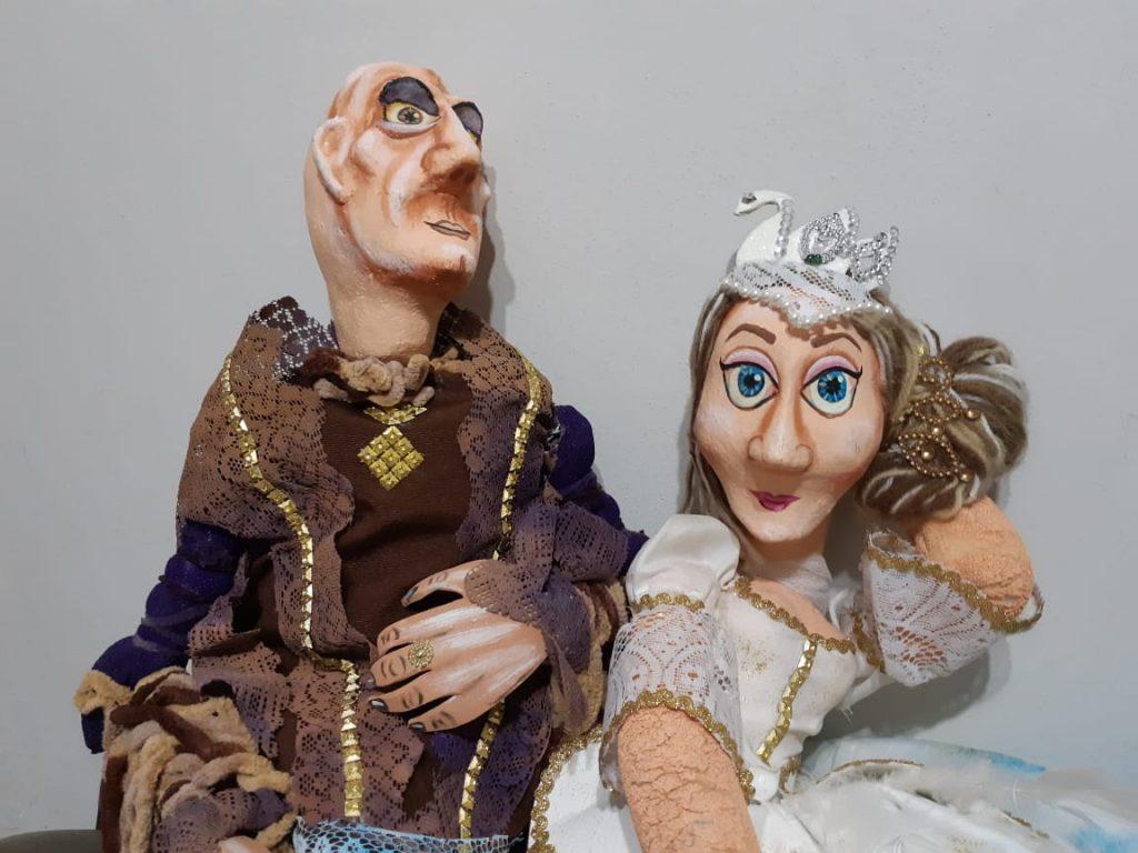 Os bonecos de Jefferson, cheios de realidade e sonhos. | Foto: Arquivo Pessoal